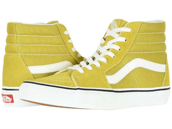 (取寄)Vans(バンズ) スニーカー スケート-ハイ ユニセックス メンズ レディース Vans Unisex SK8-Hi Cress Green/True White
