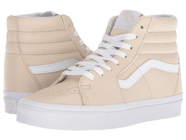(取寄)Vans(バンズ) スニーカー スケート-ハイ ユニセックス メンズ レディース Vans Unisex SK8-Hi (Leather) Sand Dollar