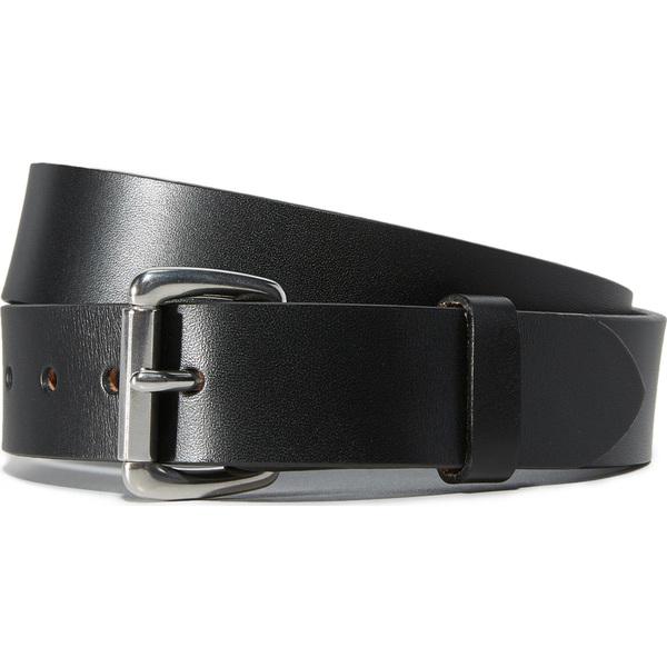(取寄)FILSON Bridle Leather Belt フィルソン ブライドル レザー ベルト Black