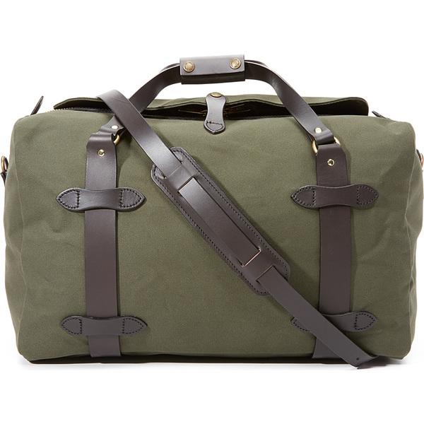(取寄)FILSON Medium Duffel Bag フィルソン ミディアム ダッフル バッグ OtterGreen