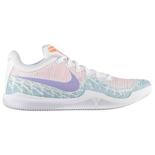 low priced b6036 359ac Nike men basketball shoes sneakers mamba Reiji Kobe Bryant basketball shoes  Nike Men s Mamba Rage Kobe Bryant White Hyper Grape Green Glow Bright Mango