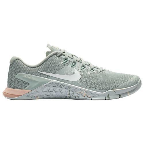 (取寄)ナイキ レディース メトコン 4 Nike Women's Metcon 4 Light Silver White Guava Ice Mica Green