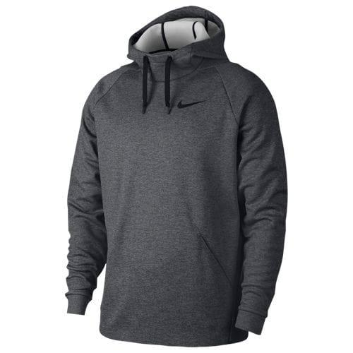 【エントリーでポイント10倍】(取寄)ナイキ メンズ パーカー サーマ フーディ Nike Men's Therma Hoodie Charcoal Heather Black