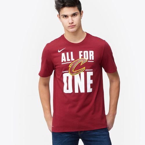c9cb61fef1cd (order) Nike men NBA Mai team T-shirt Cleveland Cavaliers Nike Men s NBA My  Team T-Shirt Cleveland Cavaliers Team Red