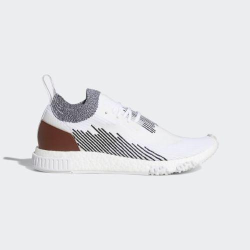(取寄)アディダス オリジナルス メンズ エヌ・エム・ディー レーサー スニーカー adidas originals Men's NMD_Racer Shoes Cloud White / Core Black / Redwood