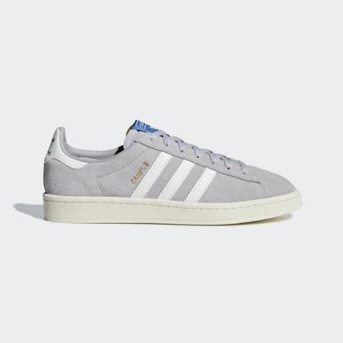 (取寄)アディダス オリジナルス メンズ キャンパス スニーカー adidas originals Men's Campus Shoes Grey / Running White / Cream White