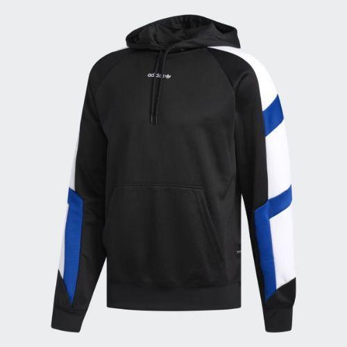 (取寄)アディダス オリジナルス メンズ EQT ブロック パーカー adidas originals Men's EQT Block Hoodie Black