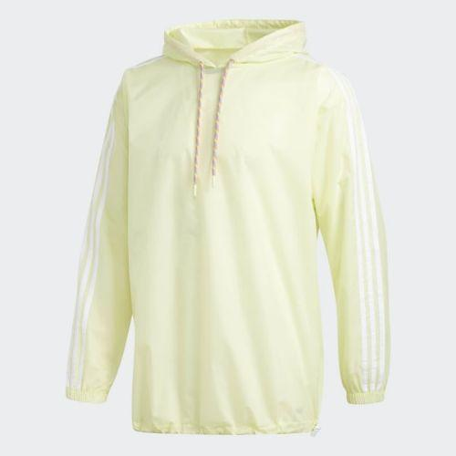(取寄)アディダス オリジナルス メンズ プライド ウインドブレーカー ポンチョ adidas originals Men's Pride Windbreaker Poncho Ice Yellow / White