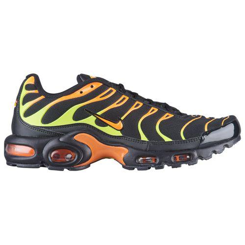 (取寄)ナイキ メンズ エア マックス プラス Nike Men's Air Max Plus Black Volt Total Orange Hot Punch