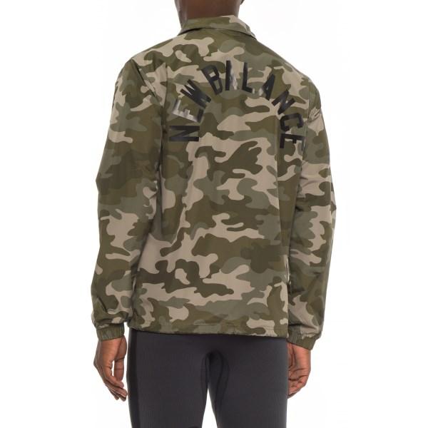 ニューバランス メンズ コーチ ジャケット クラシックコーチジャケット カモフラ柄 迷彩 カモ New Balance Classic Coaches Jacket