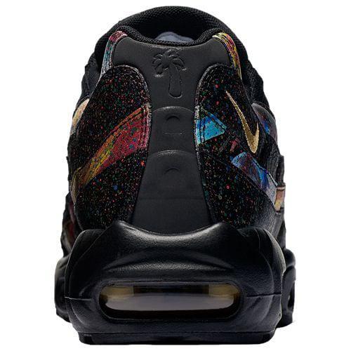 size 40 adadc 88d96 (order) Nike men Air Max 95 Nike Mens Air Max 95 Black Metallic Gold  Cobalt Blaze