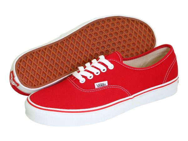 (取寄)Vans(バンズ) スニーカー オーセンティック コア クラシックス メンズ Vans Men's Authentic Core Classics Red