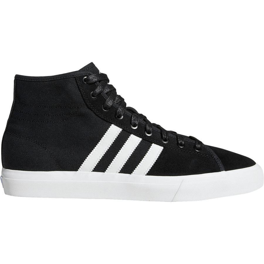(取寄)アディダス メンズ マッチコート ハイ RX シューズ Adidas Men's Matchcourt High RX Shoe Black/White/Gum4