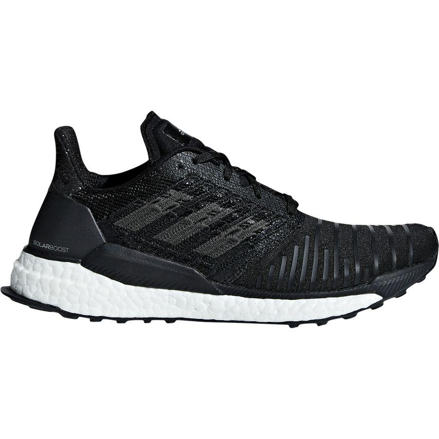 (取寄)アディダス レディース ソーラー ブースト ランニングシューズ Adidas Women Solar Boost Running Shoe Core Black/Grey Four F17/Footwear White