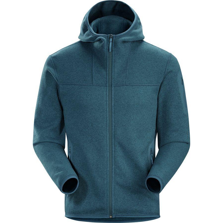 (取寄)アークテリクス メンズ コバート フリース フーデッド フリース ジャケット Arc'teryx Men's Covert Covert コバート Fleece Hooded Jacket Hecate Blue, ネットショップカズ:2503e9b7 --- m2cweb.com