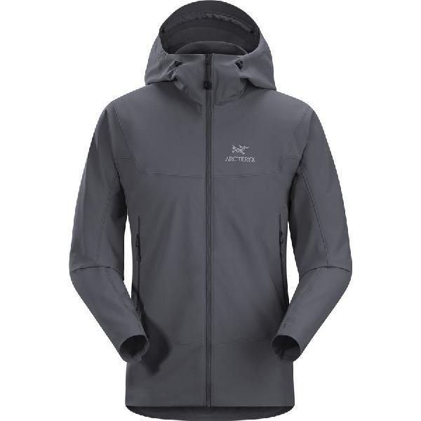 (取寄)アークテリクス メンズ ガマー LT フーデッド ソフトシェル ジャケット Arc'teryx Men's Gamma LT Hooded Softshell Jacket Heron
