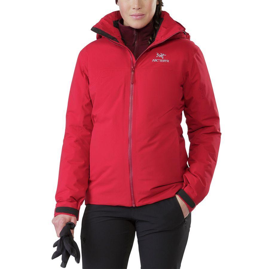 (取寄)アークテリクス レディース フィション SV ジャケット Arc'teryx Women Fission SV Jacket Pomegranate