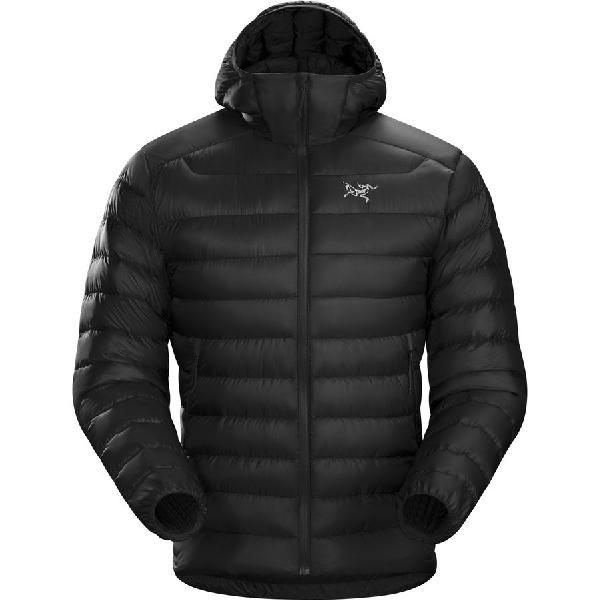 【エントリーでポイント10倍】(取寄)アークテリクス メンズ セリウム LT フーデッド ダウン ジャケット Arc'teryx Men's Cerium LT Hooded Down Jacket Black