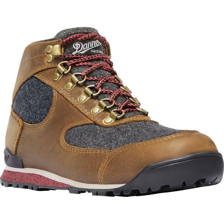 (取寄)ダナー レディース ジャグ ウール ブーツ Danner Women Jag Wool Boot Elk Brown
