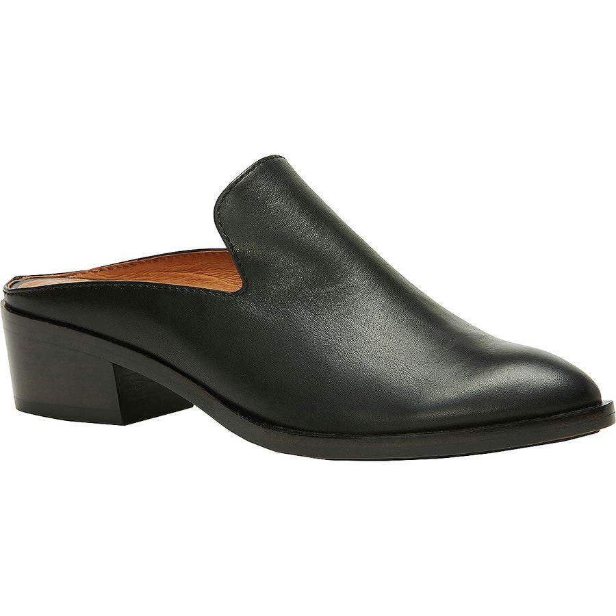 (取寄)フライ レディース レイ ミュール シューズ Frye Women Ray Mule Shoe Black