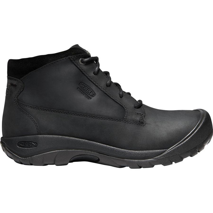(取寄)キーン メンズ オースティン カジュアル ブーツ KEEN Men's Austin Casual Boot Black/Raven