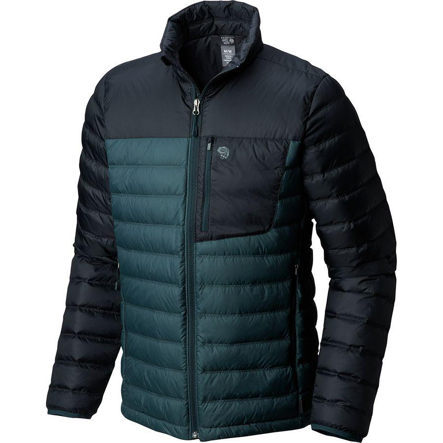 (取寄)マウンテンハードウェア メンズ ダイノサーム ダウン ジャケット Mountain Hardwear Men's Dynotherm Down Jacket Blue Spruce