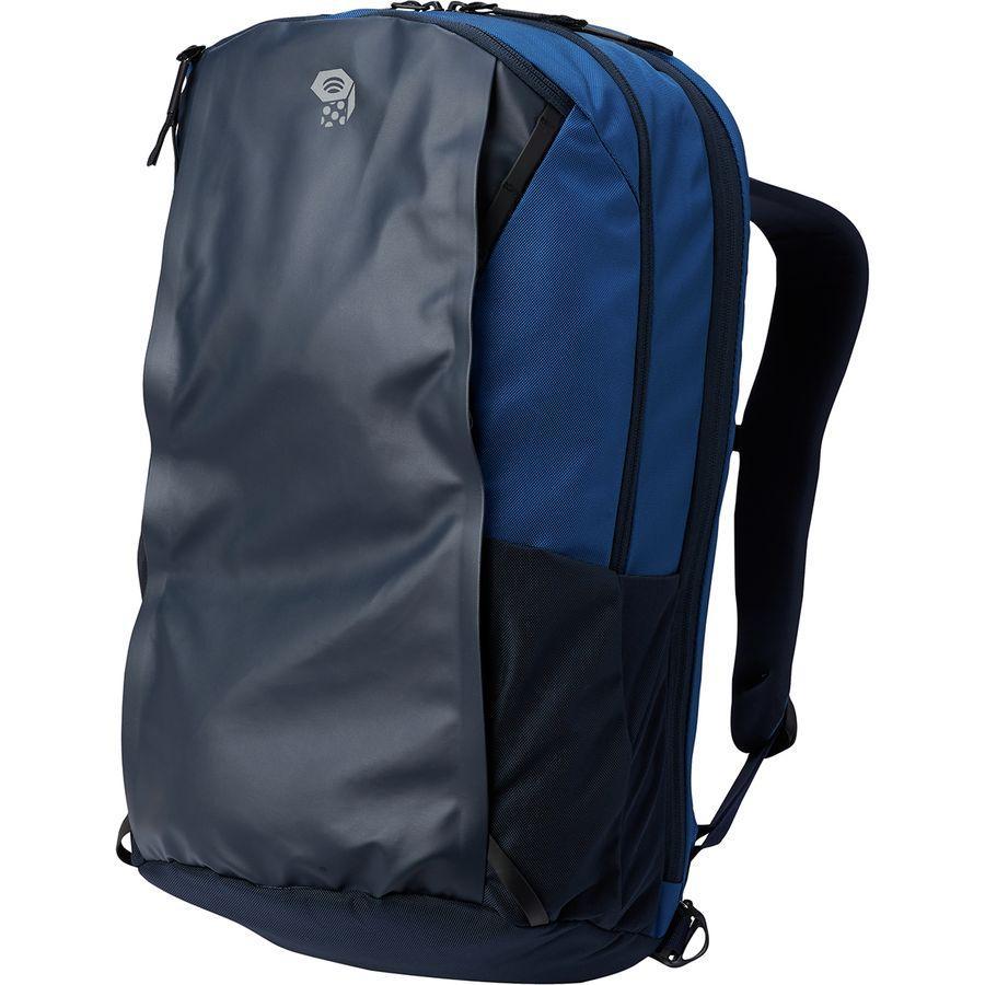 (取寄)マウンテンハードウェア フォルサム 28L バックパック Mountain Hardwear Men's Folsom 28L Backpack Nightfall Blue/Dark Zinc