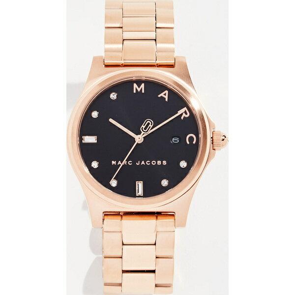(取寄)Marc Jacobs Henry Watch, 36mm マークジェイコブス ヘンリー ウォッチ 36mm RoseGoldBlack