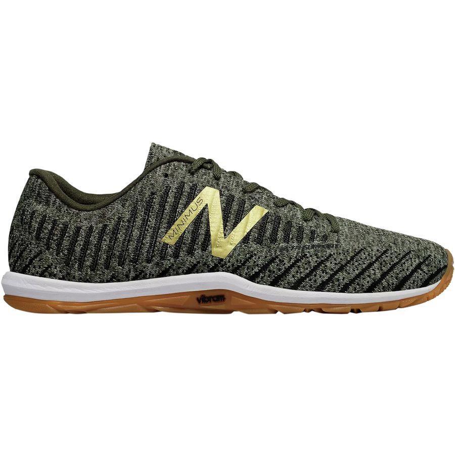 (取寄)ニューバランス メンズ ミニマス 20v7パフォーマンス ストレングス シューズ New Balance Men's Minimus 20v7 Performance Strength Shoe Military Foliage Green/Dark Green/Gold