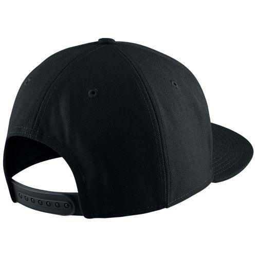 95feb023 ... NIKE Nike logo cap hat black air toe roux snapback hat Nike Men's Air  True Snapback