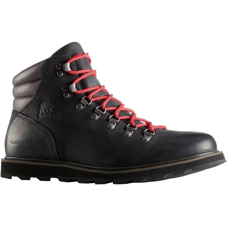 (取寄)ソレル メンズ マドソン ハイカー ブーツ Sorel Men's Madson Hiker Boot Black