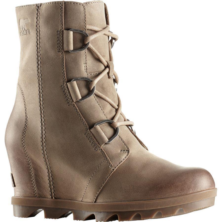 (取寄)ソレル レディース ジョアン オブ アークティック ウェッジ 2 ブーツ Sorel Women Joan Of Arctic Wedge II Boot Ash Brown