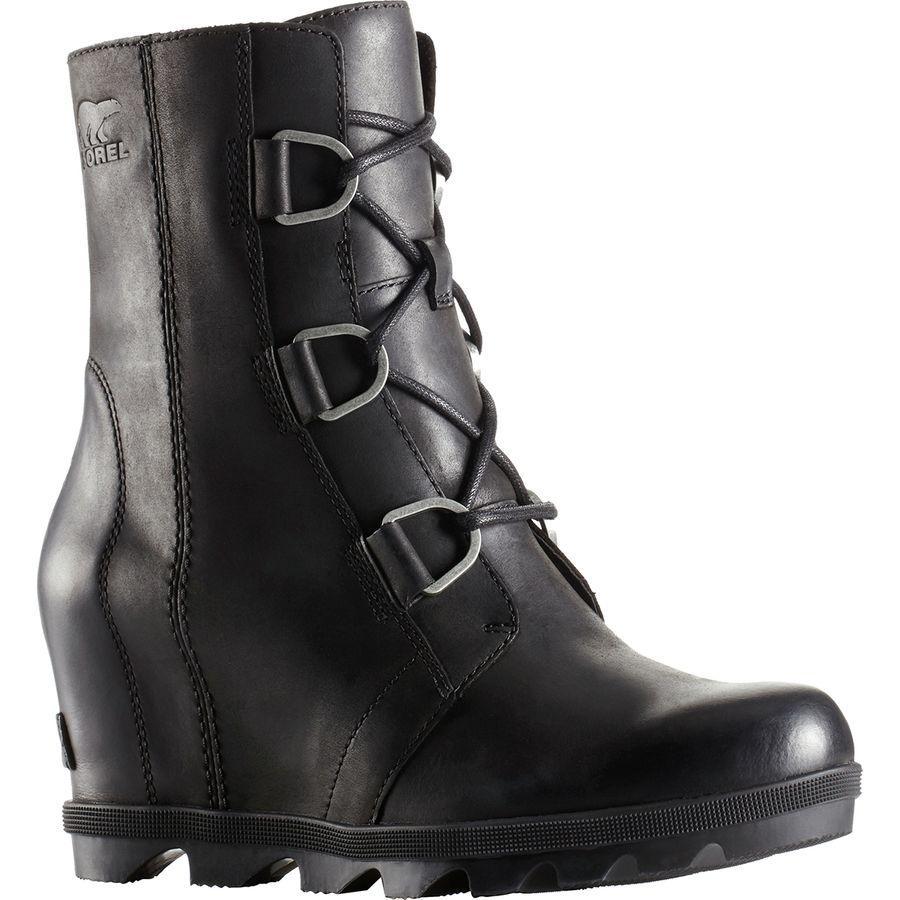 (取寄)ソレル レディース ジョアン オブ アークティック ウェッジ 2 ブーツ Sorel Women Joan Of Arctic Wedge II Boot Black
