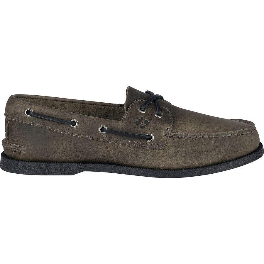 (取寄)スペリートップサイダー メンズ A/O2-EyePullup シューズ Sperry Top-Sider Men's A/O 2-Eye Pullup Shoe Grey