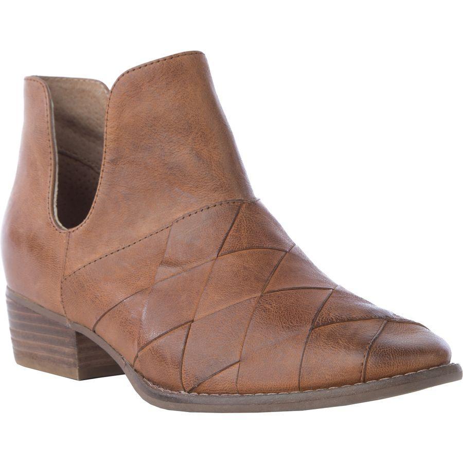 (取寄)セイシェルズ レディース フットウェアー ディープ シー ブーツ Seychelles Women Footwear Deep Sea Boot Cognac Leather
