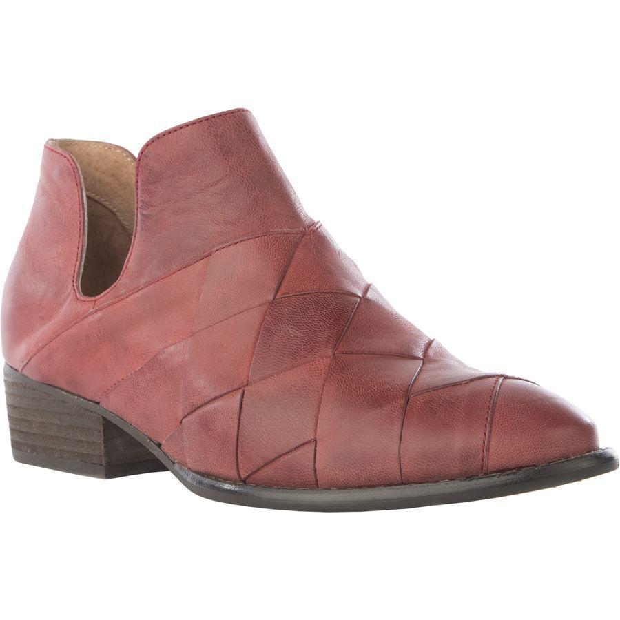 (取寄)セイシェルズ レディース フットウェアー ディープ シー ブーツ Seychelles Women Footwear Deep Sea Boot Red Leather