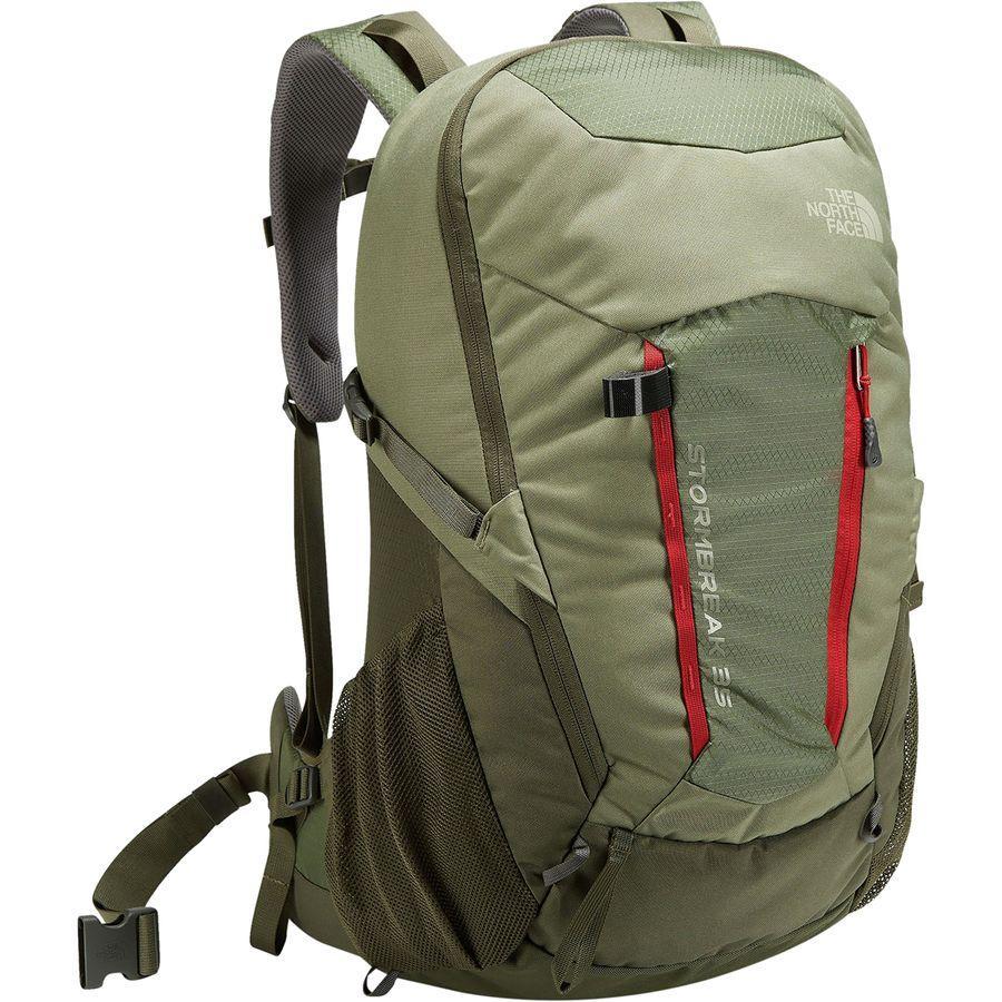 (取寄)ノースフェイス ストームブレーク 35L バックパック The North Face Men's Stormbreak 35L Backpack Grape Leaf/Deep Lichen Green