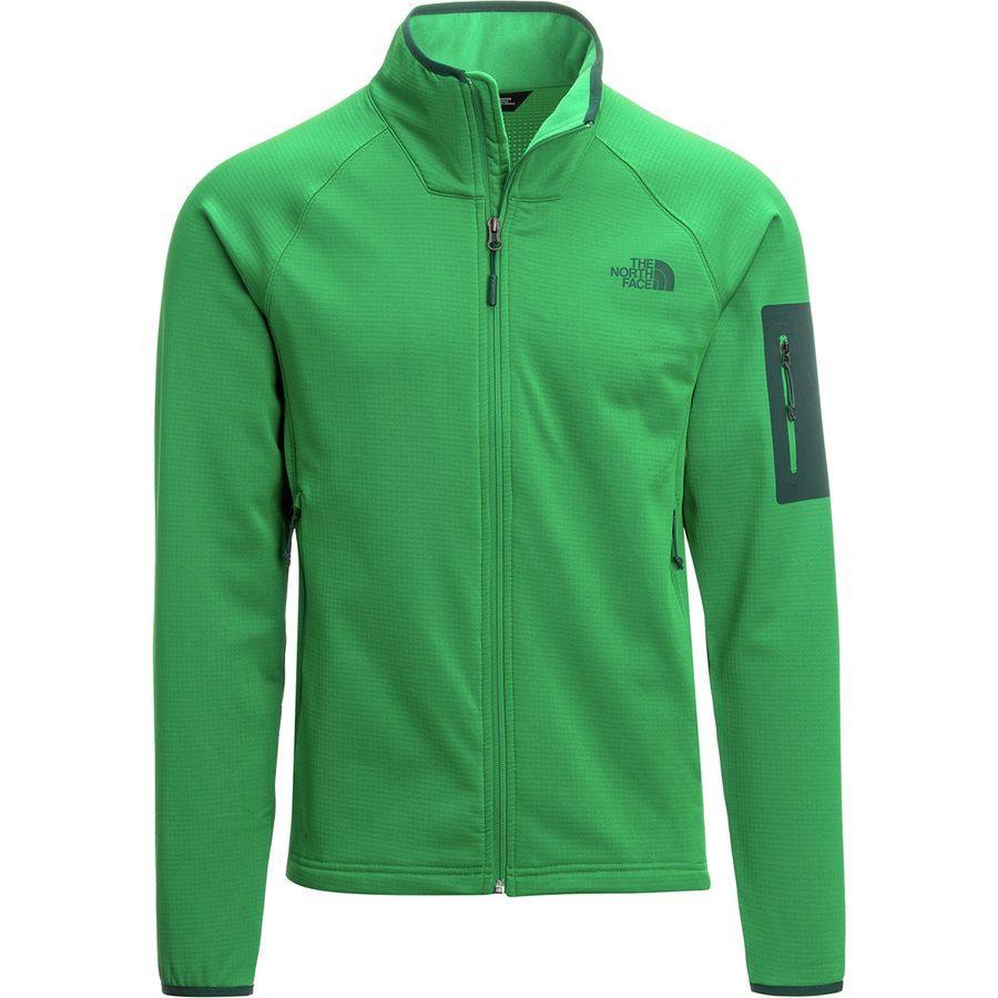 (取寄)ノースフェイス メンズ ボアード フリース ジャケット The North Face Men's Borod Fleece Jacket Primary Green/Botanical Garden Green
