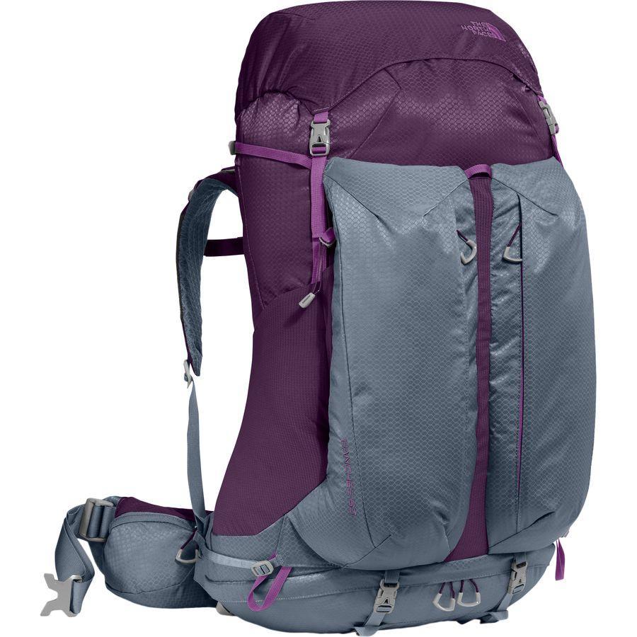(取寄)ノースフェイス レディース バンチー 65L バックパック The North Face Women Banchee 65L Backpack Blackberry Wine/Folkstone Gray