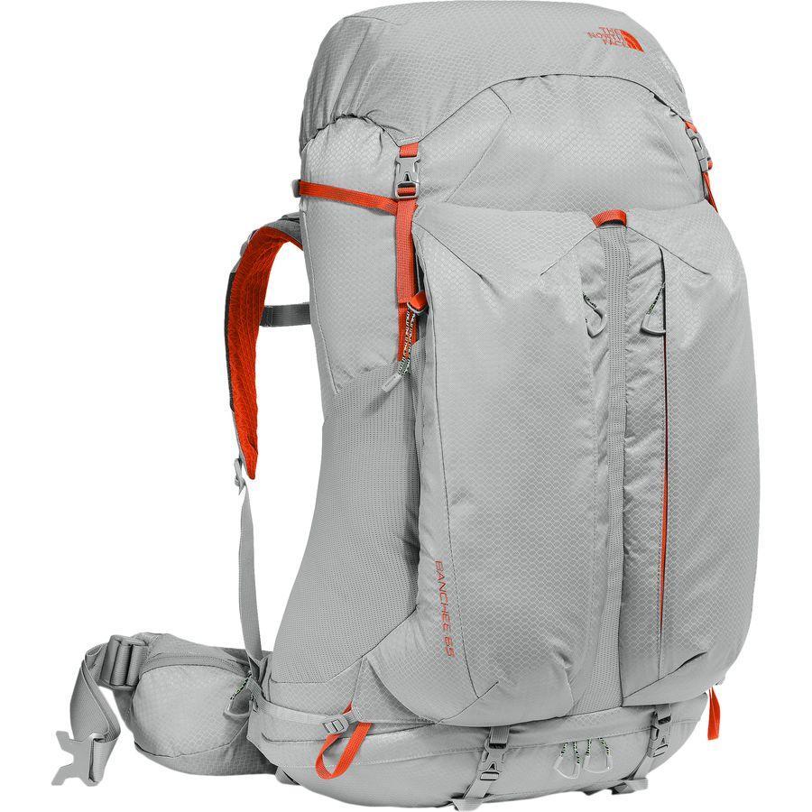 (取寄)ノースフェイス レディース バンチー 65L バックパック The North Face Women Banchee 65L Backpack High Rise Grey/Fire Brick Red