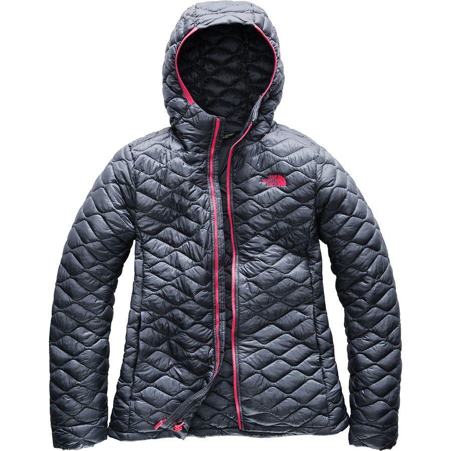 (取寄)ノースフェイス レディース サーモボール フーデッド インサレーテッド ジャケット The North Face Women Thermoball Hooded Insulated Jacket Grisaille Grey