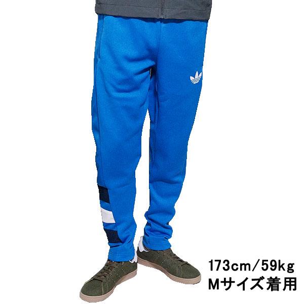 adidasuorijinarusumenzutorefoiru FC运动裤adidas originals Men's Trefoil FC Track Pants Bluebird