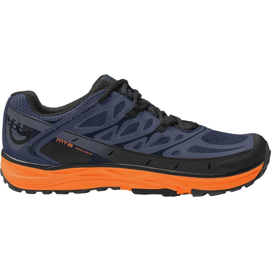 (取寄)トポアスレチック メンズ MT-2トレイル ランニングシューズ Topo Athletic Men's MT-2 Trail Running Shoe Blue/Mango