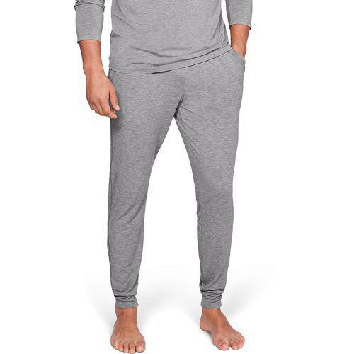 (取寄)アンダーアーマー メンズ リカバリー スリープウェア ジョガー Underarmour Men's Recovery Sleepwear Jogger Charcoal Heather Black