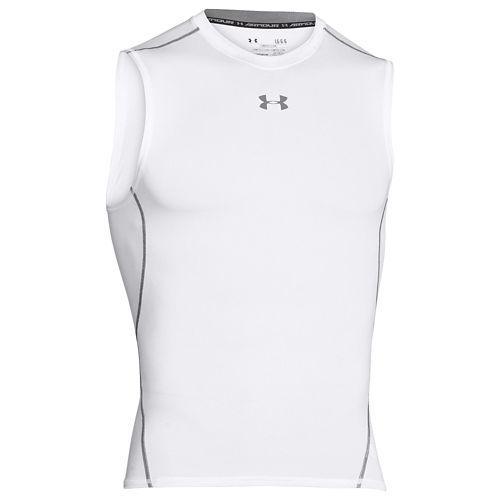 (取寄)アンダーアーマー メンズ ヒートギア アーマー コンプレッション S/L シャツ UNDER ARMOUR Men's Heatgear Armour Compression S/L Shirt White Graphite 【コンビニ受取対応商品】