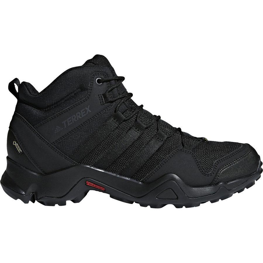 (取寄)アディダス メンズ アウトドア テレックス AX2R ミッド Gtx ハイキング ブーツ Adidas Men's Outdoor Terrex AX2R Mid GTX Hiking Boot Black/Black/Black