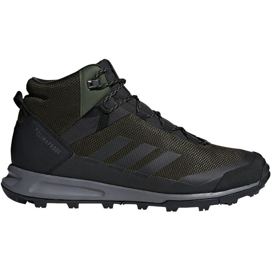 (取寄)アディダス メンズ アウトドア テレックス Tivid ミッド CP ハイキングシューズ Adidas Men's Outdoor Terrex Tivid Mid CP Hiking Shoe Night Cargo/Black/Grey Four