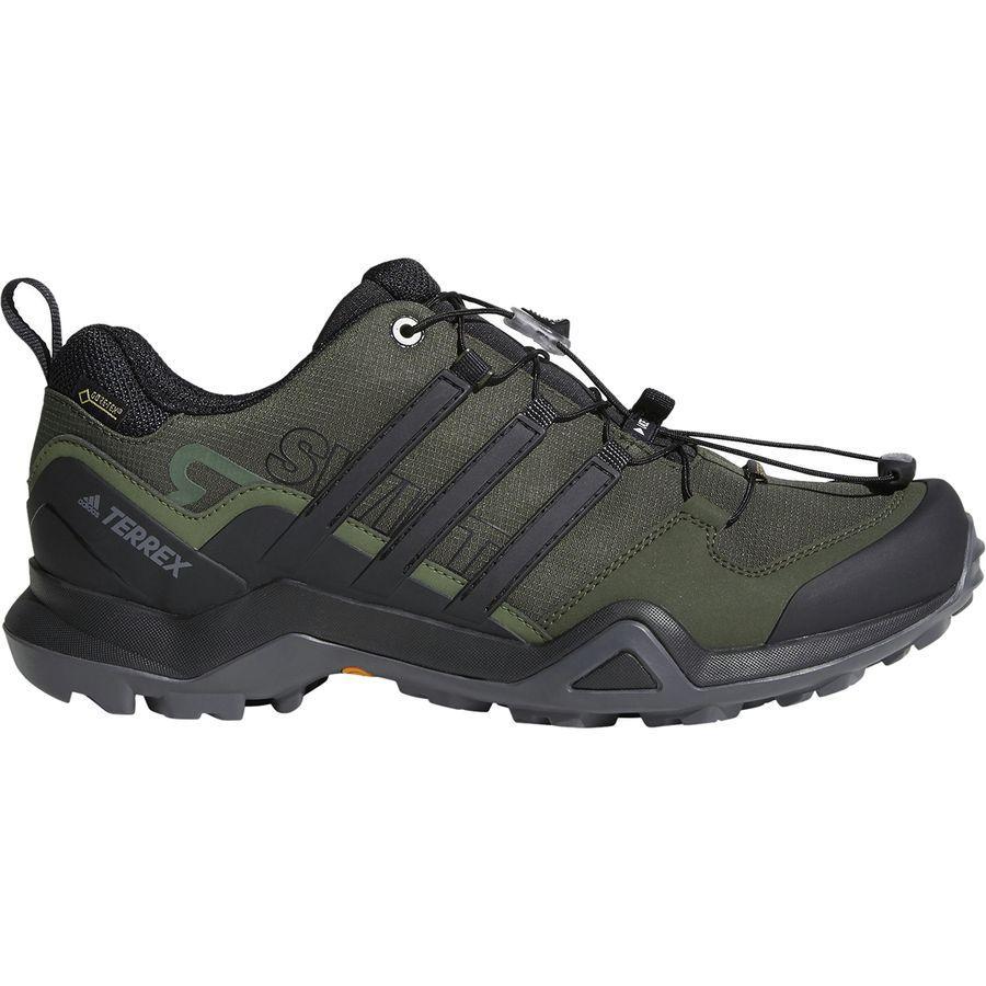 (取寄)アディダス メンズ アウトドア テレックス スウィフト R2 Gtx ハイキングシューズ Adidas Men's Outdoor Terrex Swift R2 GTX Hiking Shoe Night Cargo/Black/Base Green
