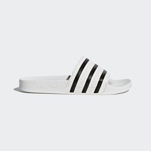 (取寄)アディダス オリジナルス メンズ アディレッタ スライド サンダル adidas originals Men's Adilette Slides White / Core Black / White