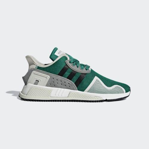 (取寄)アディダス オリジナルス メンズ EQT クッション Adv スニーカー adidas originals Men's EQT Cushion ADV Shoes Sub Green / Core Black / Grey
